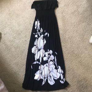 White house black market tube top dress